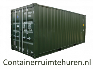 Container Ruimte Huren